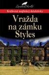 Agatha Christie - Vražda na zámku Styles obal knihy