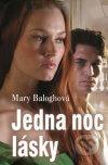 Mary Baloghová - Jedna noc lásky obal knihy