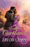 Barbara Cartland - Závod lásky obal knihy