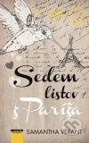 Samantha Vérant - Sedem listov z Paríža obal knihy