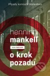 Henning Mankell - O krok pozadu obal knihy