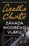 Agatha Christie - Záhada modrého vlaku obal knihy