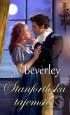 Jo Beverley - Stanforthská tajemství obal knihy