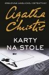 Agatha Christie - Karty na stole obal knihy