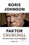 Boris Johnson - Faktor Churchill obal knihy