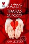 Silvia Jezerská - Každý trapas sa počíta obal knihy