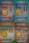 Vlastimil Vondruška - Přemyslovská epopej I – IV obal knihy