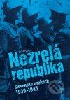 Jozef Hajko - Nezrelá republika obal knihy