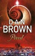 Dan Brown - Pôvod obal