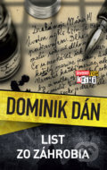 Dominik Dán - List zo záhrobia obal knihy