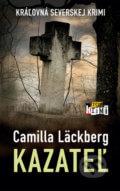 Camilla Läckberg - Kazateľ obal knihy