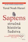 Yuval Noah Harari - Sapiens obal knihy