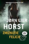 Jorn Lier Horst - Zmiznutie Felicie obal knihy